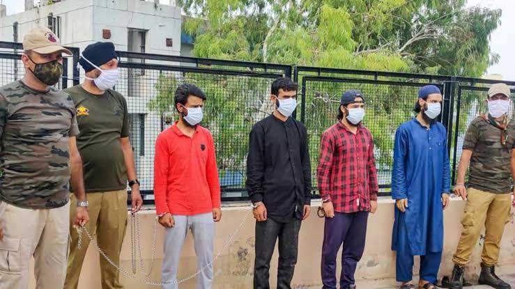 J-K major terror hit, six LeT terrorists arrested